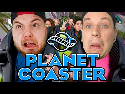 THE GREATEST THEME PARK?! - Planet Coaster! W/AshDubh!