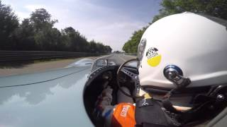 Jaguar D-type Onboard - 2015 Le Mans Legends race
