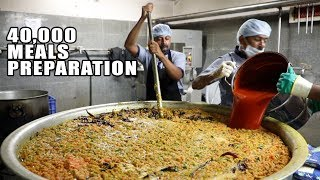 Amazing Food Preparation for 40000 People | 5 Rs Mid Day Meals in Hyderabad |