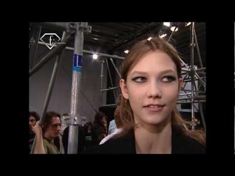 fashiontv | FTV.com - Karlie Kloss First Face Talks F/W 08-09