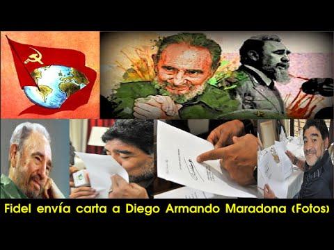 Cuba, South America | Diego Maradona recibe carta de Fidel Castro | Politics