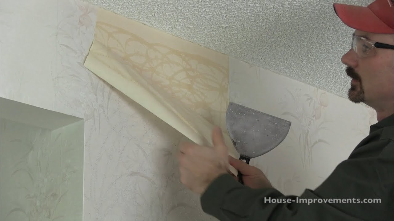How To Remove Wallpaper - YouTube