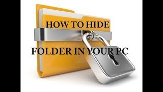 How to hide or unhide any file in windows  7 8 10 Without Any software