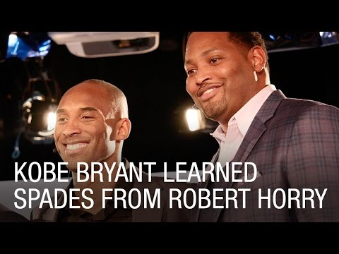 Kobe Bryant Learned Spades From Robert Horry