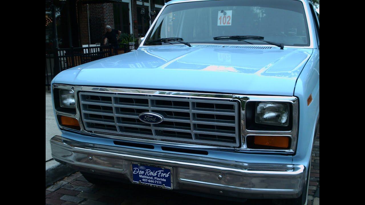 1986 Ford F150 Pickup Truck Blu WG081614 - YouTube