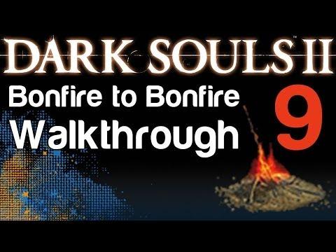 Dark Souls 2 - B2b Walkthrough - Iron Keep Bonfires And Old Iron King Great Soul Boss (09) video