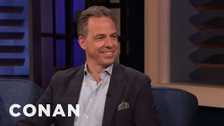 "Jake Tapper Went On Paul Rudd's ""Ant-Man"" Diet - CONAN on TBS"