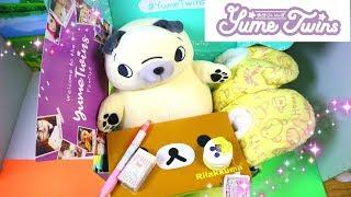 YUME TWINS Kawaii Japanese Subscription Box! | Review