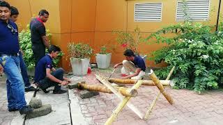 Bamboo Cannon Una Wedilla Cultural Game