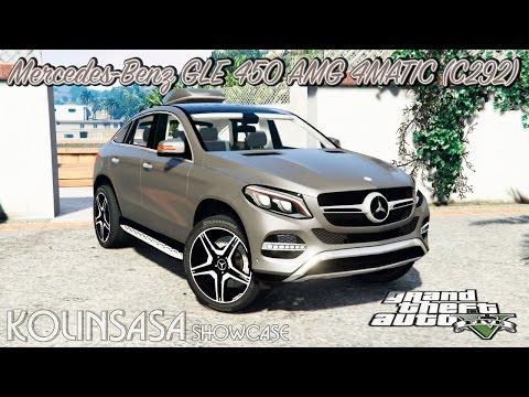 Mercedes-Benz GLE 450 AMG 4MATIC (C292) [add-on]