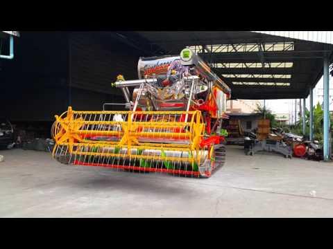 รถเกี่ยวข้าวสินเจริญ ซุปเปอร์คิงส์ 2015