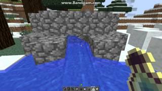 Бесконечный источник воды и булыжника в Minecraft