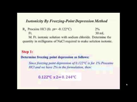 a lab experiment to determine the molar mass of a solute from the freezing point depression of a sol Video shows how to calculate the molar mass of sulfuric acid  boiling point elevation, and freezing point depression  check on chemistry to get old sol.
