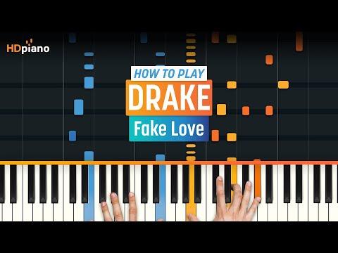 "Download How To Play ""Fake Love"" by Drake | HDpiano Part 1 Piano Tutorial Mp4 baru"