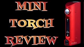 Mini Torch By S Body Review DNA 40
