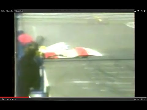 Félelmetes balesetek verseny közben.