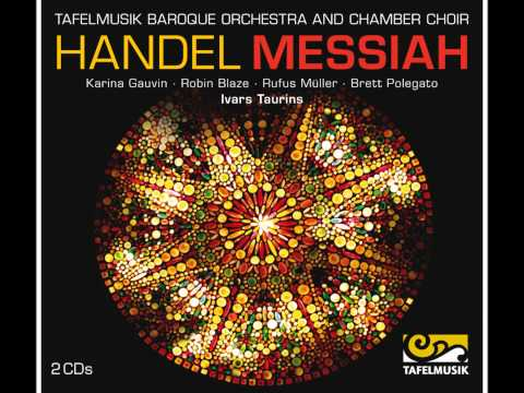 Handel Messiah, Alto Recitative: Then shall be brought to pass