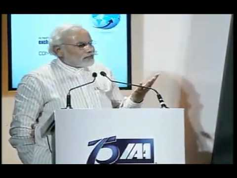 Shri Narendra Modi addresses IAA's Platinum Jubilee Global Marketing Summit, Mumbai