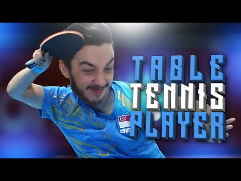 TABLE TENNIS PLAYER!!