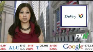 News Update: DeVry, Inc. (DV) and ITT Educational Services, Inc. (ESI) Upgraded to Outperform