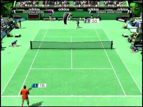 Virtua テニス 4 ナダル vs Del Potro Very hard