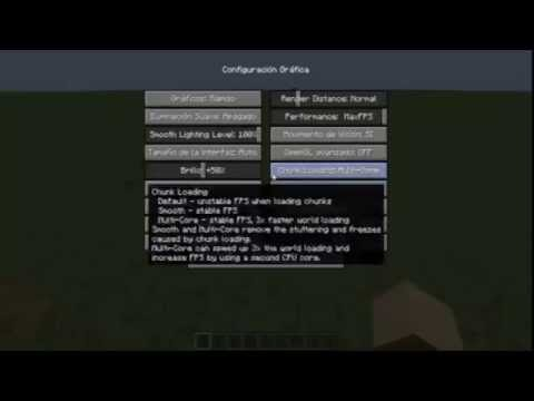 Minecraft Optifine Mod. Instalacion.review y configuracion para pc de bajos recursos! 1.6.2 y 1.6.4