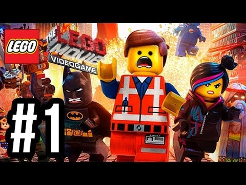 Search for The LEGO Movie Videogame Walkthrough PART 1 Let's Play Gameplay Playthrough PS4 XBOX ONE PC