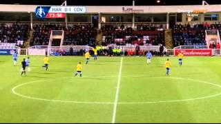 Hartlepool United vs Coventry City FA Cup 07/12/2013 2nd half