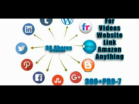 Auto Backlink Creator Auto submit to Facebook Twitter pinterest Plus blogger wordpress