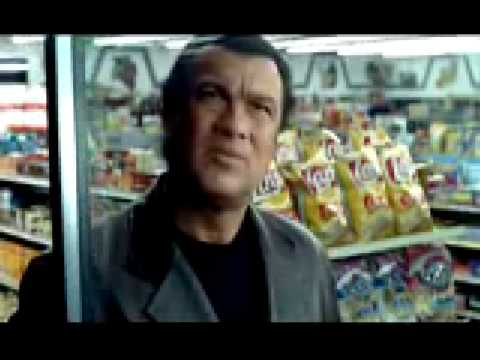 Steven Seagal Mountain Dew Commercial
