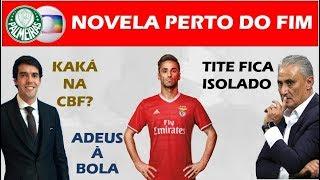 Palmeiras e Globo quase fechados / Kaká na CBF? / Tite isolado / Jonas deve se aposentar