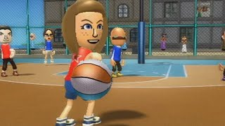 beef boss vs abby wii sports resort basketball