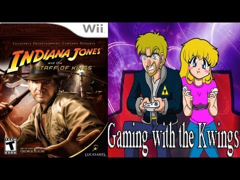 Indiana Jones and the Staff of Kings (Wii) co-op Long Play!