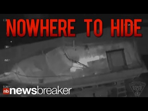 RAW VIDEO: Infrared Video Shows Boston Bombing Suspect Hiding in Boat | NewsBreaker | Ora TV