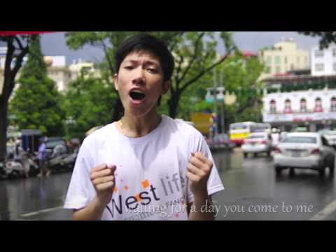 Vietnam Is Westlife's Little Love (cover My Love - Westlife) video