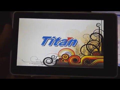 Reinstalar firmware o hard reset Tablet TITAN Todos los Modelos (Reiniciar por bloqueo por patrón)