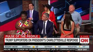 CNN - Pulse of the People - Trumps response to Charlottesville VA event
