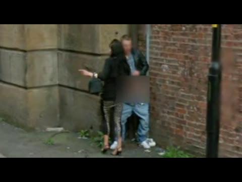 Prostituta captada infraganti