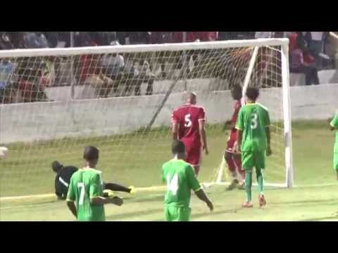 CFU Men's Highlights St  Kitts & Nevis vs Dominica
