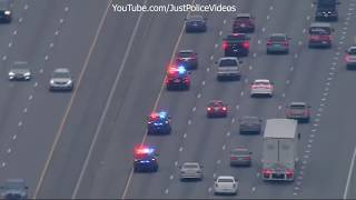 Ft Worth Texas Police Chase - Feb 5 2018
