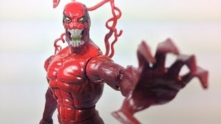 Marvel Legends Toxin Figure Review (Spawn of Symbiotes)