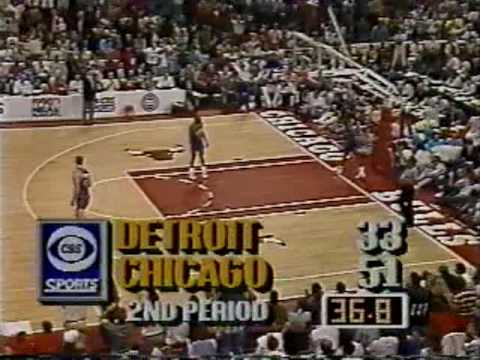 Michael Jordan 1990: 42 points vs Pistons (Game 4)