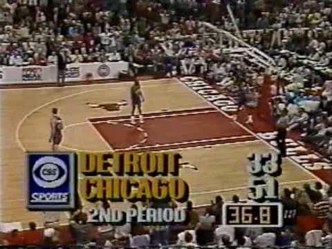 Michael Jordan 1990: 42 points vs Pistons (Game 4)