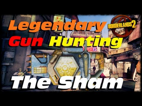 Borderlands 2 Legendary Weapon Guide The Sham Shield! Legendary Absorb Shield! (1080p)