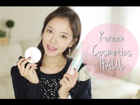 Mini Korean Cosmetics HAUL ♥ 한국 메이크업 제품들