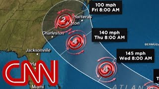 Hurricane Florence threatens US East Coast