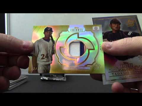 Matt's 2013 Topps Tribute World Baseball Classic & Inception 2 Hobby Box Break
