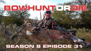 Bowhunting Texas Whitetails - Bowhunt or Die Season 08 Episode 31