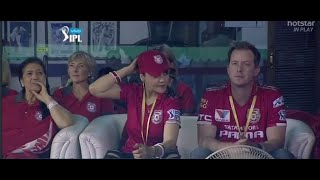 Preity Zinta With Husband Gene Goodenough  SpottedTogether At Her Team'S IPL Match