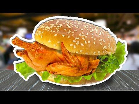 Лучший куриный бургер